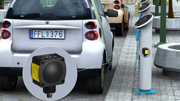 Electric Vehicle Detection in Charging Station - TURCK BANNER SAS